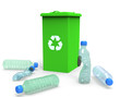 3D Plastic Bottles - Recycling