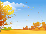 Fototapety Autumn day