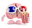 Brain eats popcorn at the movies