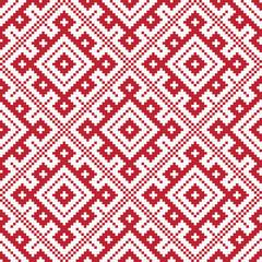 Ethnic slavic seamless pattern#6