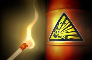 Spiel mit dem Feuer: Explosiv!
