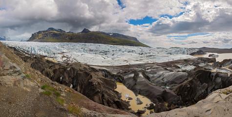 svinafellsjokull in Iceland