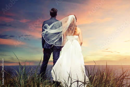 Poster Bridal Couple