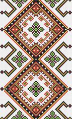 Ukrainian ethnic seamless ornament, #49, vector