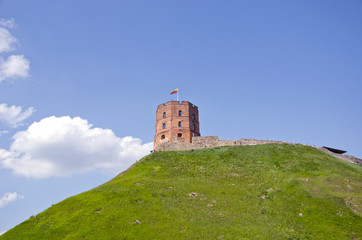 Tower of Gediminas castle, Vilnius, Lithuania