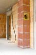 Bauarbeiten - Kamin