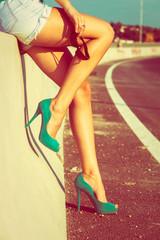 long tan legs