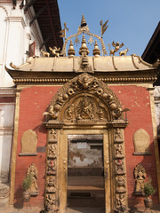 Golden gate of Bhaktapur