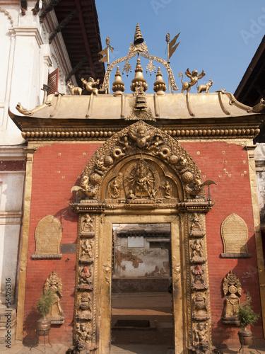 Golden gate of Bhaktapur