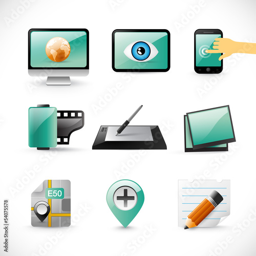 new emerald icons collection - smart devices