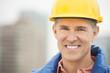 Portrait Of Happy Manual Worker