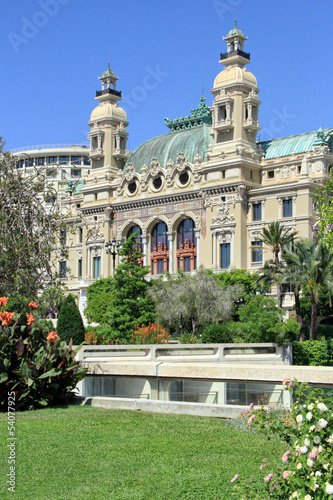 Monte Carlo Casino and Opera, Monaco