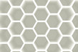 Modern hexagon shelves background
