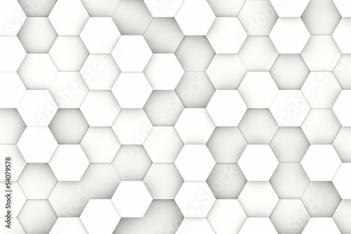Modern hexagon background