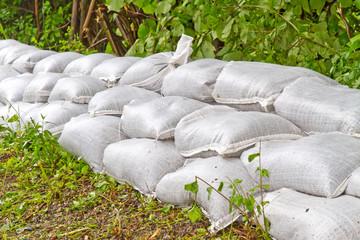 Sandsäcke - Hochwasserschutz
