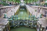 Ecluse du temple, canal Saint-Martin, Paris