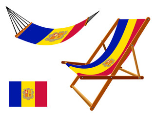 andorra hammock and deck chair set