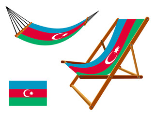 azerbaijan hammock and deck chair set