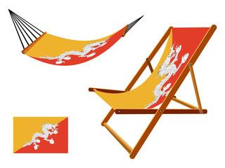 bhutan hammock and deck chair set