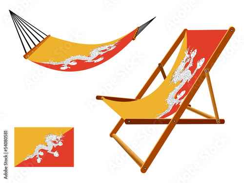 bhutan hammock and deck chair set
