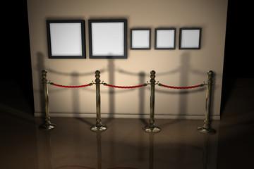 Rahmen Absperrung Galerie G