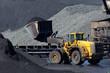 Shovel coal