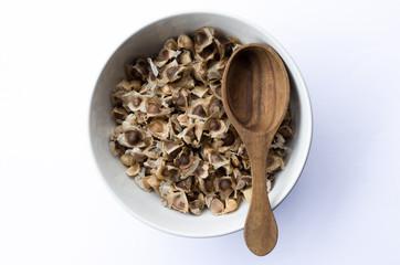 Moringa seeds dry