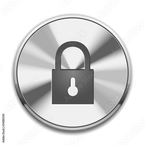 Lock icon Button