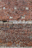 Medieval Fortress Antique Brick Stone Rampart