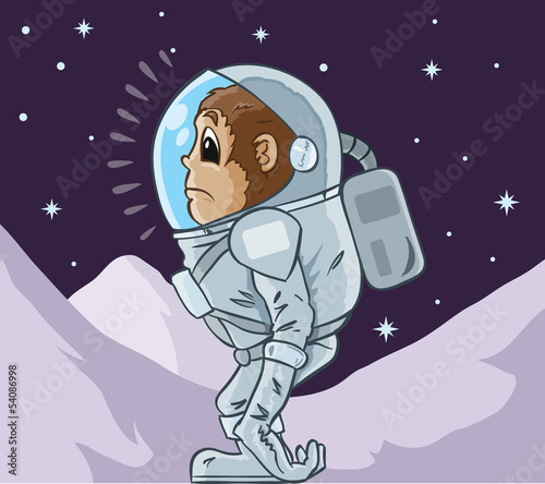 Monkey Astronaut