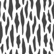 Seamless black and white animal pattern