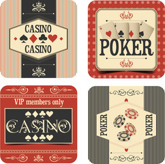 Casino labels