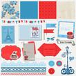 Scrapbook Design Elements - Paris Vintage Set - in vector