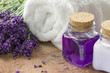 Lavender spa wellness products
