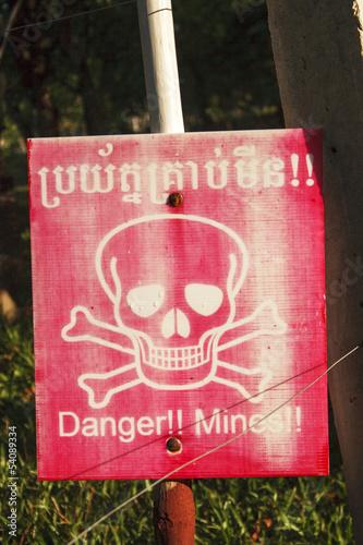 Landmine in Cambodia