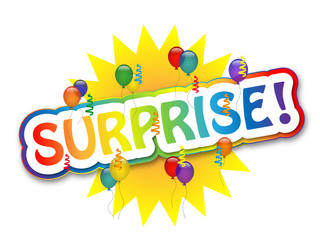 SURPRISE (party time balloons birthday celebration)
