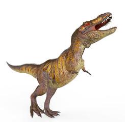 tiger t rex walking
