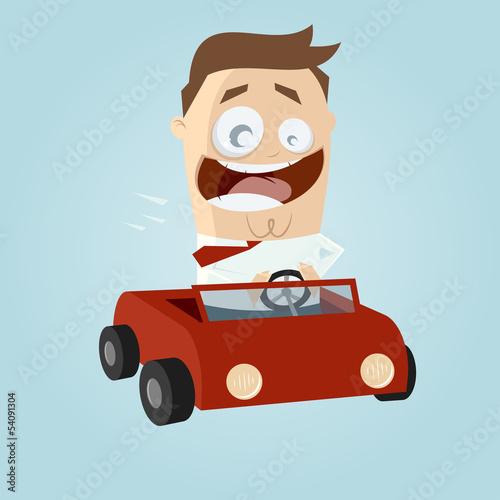 auto cartoon