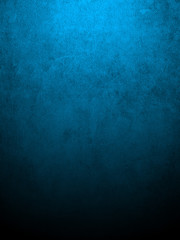 Blue grungy wall