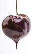 ciliegia coperta di cioccolato fuso