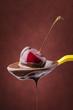 cioccolato fuso con ciliegia