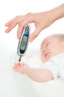 measuring glucose level blood test from diabetes