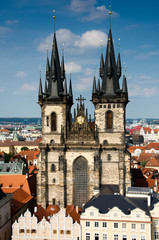 Tyn Church, The Church of Mother of God, Prague