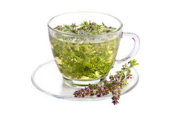 Cup of thyme tea