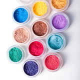 Fototapety colorful mineral eyeshadows