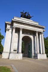 Wellington Arch in London