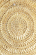 Chinese reed leaves woven spiral shape crafts of background