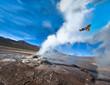 Valley of Geysers in the Atacama Desert - 54096188
