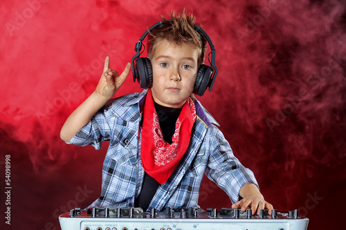 cool dj boy