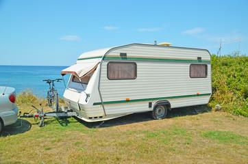 car caravan